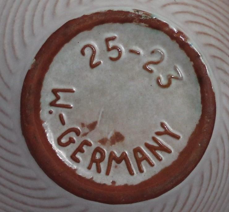 Búcaro Alemán de Cerámica