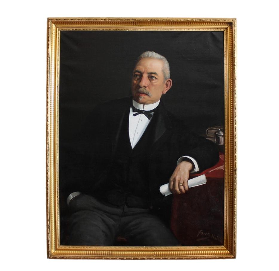 Retrato al Óleo Burgués