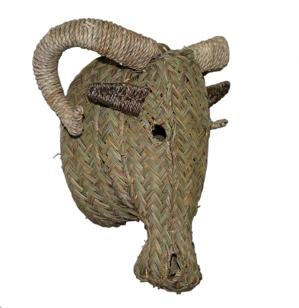 Cabeza de Muflón de Esparto